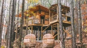 Sleep Among Towering Oaks And Pines At The Wanderlust Treehouse In Alabama