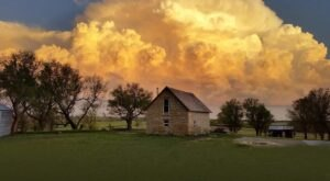 Sleep In A Piece Of Kansas Limestone History In This Countryside Airbnb