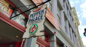 Spice It Up With A Visit To The Pepper Palace In New Orleans, Home To Nearly 200 Pepper Sauces