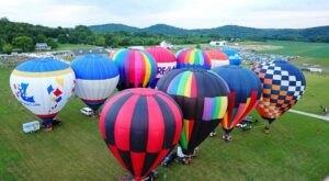 Hot Air Balloons Will Be Soaring At Missouri's Brookdale Farms Balloon Glow