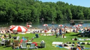 Spend A Refreshing Day Keeping Cool At Mount Gretna Lake And Beach In Pennsylvania