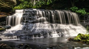 This Waterfall Near Pittsburgh Is So Hidden You'll Probably Have It All To Yourself