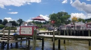 Treat Yourself To Seafood Pasta And Water Views At Tim's Restaurant In Virginia