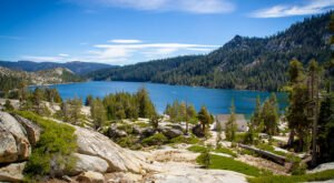 This Exhilarating Hike Takes You Along The Most Crystal Blue Lake In Northern California