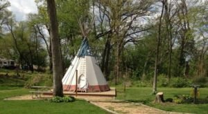 Spend The Night Under A Teepee At This Unique Illinois Campground