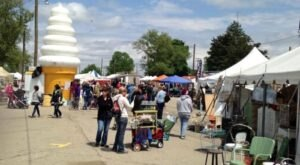 Shop 'Til You Drop At The Springfield Antique Show & Flea Market, One Of The Largest Flea Markets In Ohio