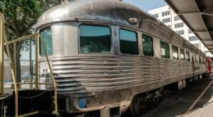 This Summer, You Can Spend The Night In A Vintage Train Car At The Galveston Railroad Museum In Texas