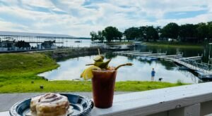 The Lakeside Views From The Quarterdeck Waterfront Cafe In Oklahoma Are As Praiseworthy As The Food