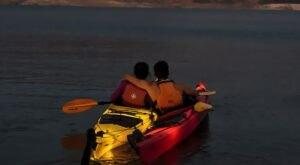 Watch The Sunset While Paddling Around The Lake On This Evening Kayak Tour In Nevada