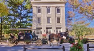 Take A Carriage Ride Through The Historic City Of Nauvoo For A Truly Unique Illinois Experience