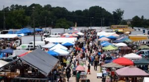 Shop 'Til You Drop At Peachtree Peddlers, One Of The Largest Flea Markets In Georgia