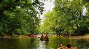 Take The Longest Float Trip In Ohio This Summer On The Mohican River