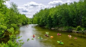 Take One Of The Longest Float Trips In New Hampshire This Summer On The Saco River