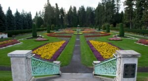 A Lush Oasis In Washington, Spokane's Manito Park Is A Peaceful Escape