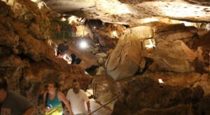 Hike Through An Ancient Cave In Oklahoma For An Incredible Underground Adventure