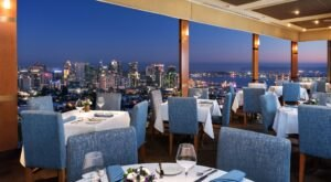 The San Diego Views From Mister A's In Southern California Are As Praiseworthy As The Food