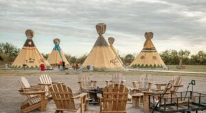 The Orr Family Farm In Oklahoma Has A Tepee Village That's Absolutely To Die For