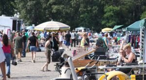 Shop 'Til You Drop At Brumwell's Flea Market, One Of The Largest Flea Markets In Maryland