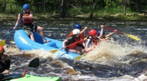 Chase The Rapids Of The St. Louis River On This Exhilarating Whitewater Rafting Tour In Minnesota