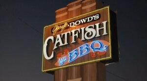 Indulge In The Area's Best Catfish At Dowd's Catfish & BBQ In Missouri, A Bayou-Themed Eatery