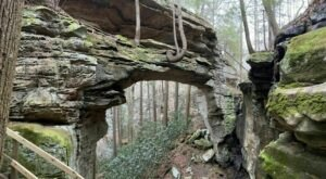 Visit An Easily Accessible Natural Arch And Then Grab A Local Meal On This Memorable Day Trip In Kentucky