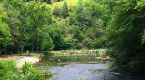 Spend The Day Or The Night At Blue Bend, A Swimming Hole, Campground, And Trail Loop In West Virginia