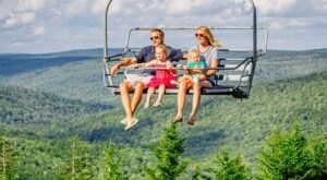 Access West Virginia's Highest Water Park By Scenic Aerial Lift For A Summer Adventure