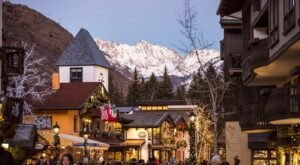 Visit Vail Village, A Charming Village Of Shops In Colorado