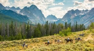 A Horseback Ride From Redfish Lake Corrals Offers A Unique Experience In Idaho's Sawtooth Mountains