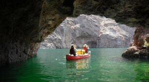 Spend A Relaxing Day Kayaking Around Lake Mead In Nevada For A Family-Friendly Adventure
