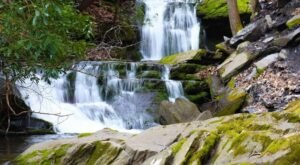Plan A Visit To Lower Slateford Creek Falls, Pennsylvania's Beautifully Clear Waterfall