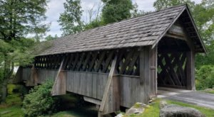 Hop In The Car And Visit 7 Of North Carolina's Covered Bridges In One Day