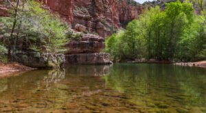 You'll Want To Spend The Entire Day At The Gorgeous Natural Pool On Arizona's Parsons Trail