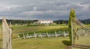 Sip Frosé In A Castle-Like Setting When You Visit The Stunning CrossKeys Vineyards In Virginia
