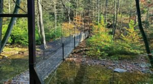 The Stomach-Dropping Suspended Bridge Walk You Can Only Find In Pennsylvania