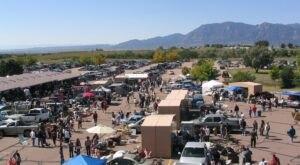 Shop 'Til You Drop At Colorado Springs Flea Market, One Of The Largest Flea Markets In Colorado