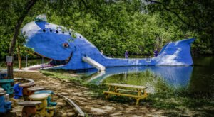Visit The Blue Whale, One Of The Most Iconic Roadside Attractions In Oklahoma