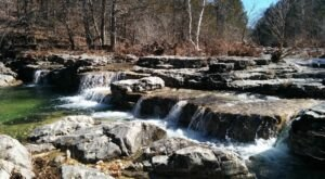 The Missouri Trail That Leads To A Stairway Waterfall Is Heaven On Earth