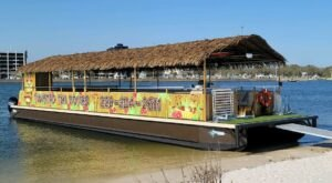 Turn Mississippi's Gulf Coast Into Your Own Oasis By Hopping Aboard A Motorized Tiki Bar
