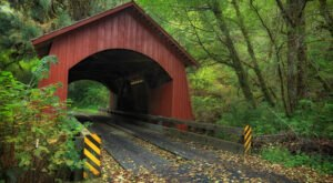 The Most Charming Covered Bridge In The PNW Is Right Here In Oregon