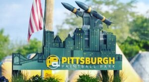 Just Like A Real Life Video Game, The 20-Acre Pittsburgh Paintball Park Will Get Your Adrenaline Rushing
