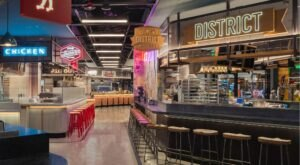 Sample Cuisines From All Over The Country At Block 16 Urban Food Hall In Nevada