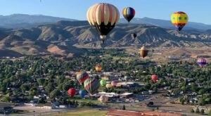 Hot Air Balloons Will Be Soaring At Utah's Eyes To The Sky Balloon Festival
