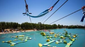 With A Floating Obstacle Course And A Wakeboard Park, Wake Island Is A Top Summer Destination In Northern California