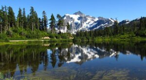 Hop In Your Car And Take The Mount Baker Scenic Byway For An Incredible 57-Mile Drive In Washington
