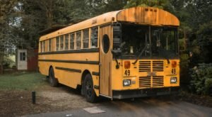 Spend The Night In An Airbnb That's Inside A School Bus Right Here In Pennsylvania