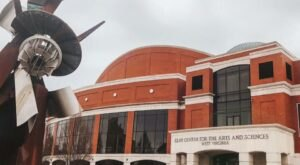 The West Virginia Planetarium That's Also A Science And Art Museum, Theatre, And Concert Hall