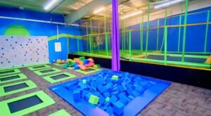 You Can Have Hours Of Family Fun At Rare Air Trampoline Park In Northern California