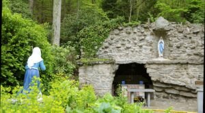 Maryland's Grotto, National Shrine Grotto of Our Lady of Lourdes, Is A Work Of Art