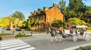 Take A Carriage Ride Through Historic Bardstown For A Truly Unique Kentucky Experience